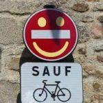 Sens interdit sauf cycliste