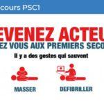 Premier secours PSC1